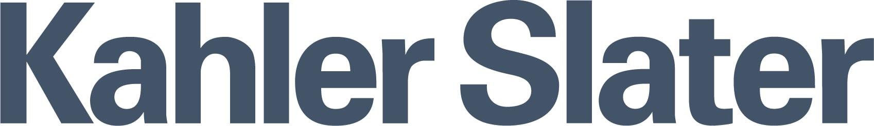 Kahler Slater Logo Ink